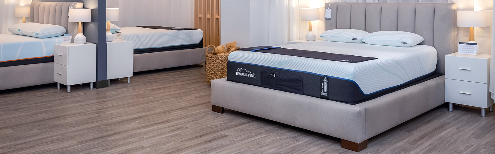 Tempur-Pedic ProAdapt Soft on display in a retail store
